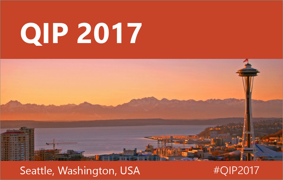 Picture of QIP 2017